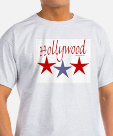 Hollywood Stars - Ash Grey T-Shirt