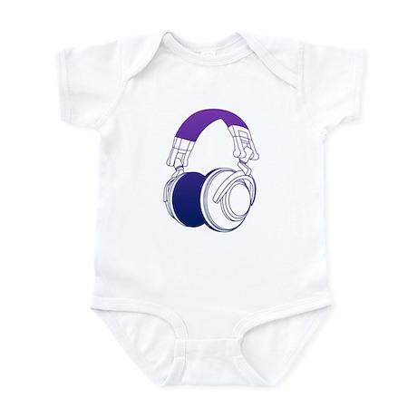 DJ Headphones 2 Infant Bodysuit