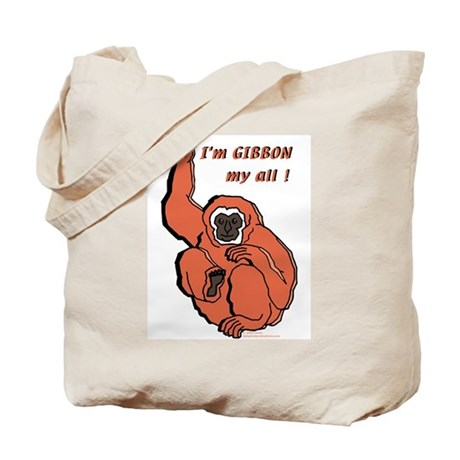 Gibbon My All Tote Bag