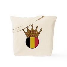 King Of Belgium Tote Bag