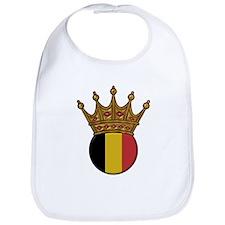 King Of Belgium Bib