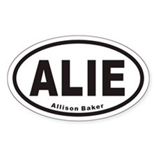 ALIE Euro Oval Decal