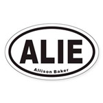 ALIE Euro Oval Sticker