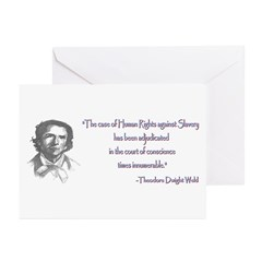 Theodore Dwight Weld Greeting Cards (Pk of 10)
