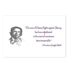 Theodore Dwight Weld Postcards (Package of 8)