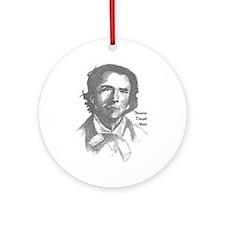 Theodore Dwight Weld Ornament (Round)