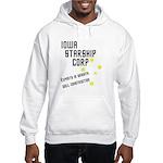 Iowa Starship Corp Hooded Sweatshirt