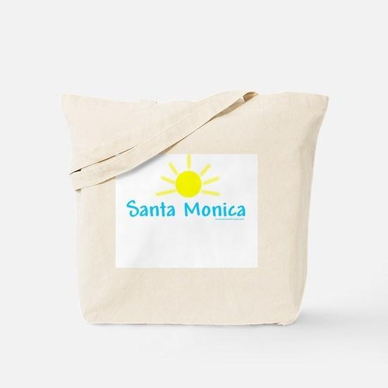 Santa Monica Sun - Tote Bag