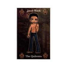 New Moon Quileutes Jacob Rectangle Magnet