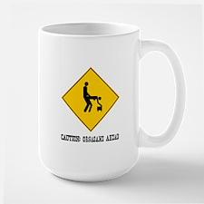 Caution: Orgasms Ahead Large Mug