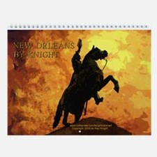 New Orleans by Knight IV Wall Calendar