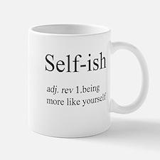 Self-ish Large Mugs