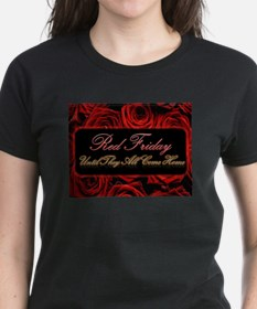 Red Friday Roses T-Shirt