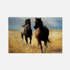 Yantis Mustangs Rectangle Magnet
