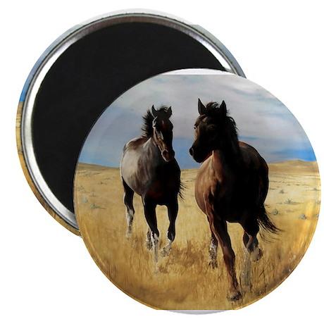 """Yantis Mustangs 2.25"""" Magnet (100 pack)"""