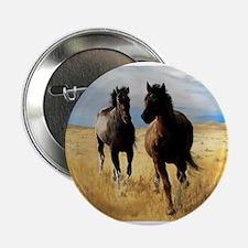 "Yantis Mustangs 2.25"" Button"