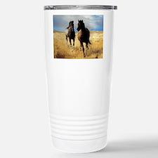 Yantis Mustangs Stainless Steel Travel Mug