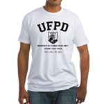 UF Police Dept Zombie Task Force Fitted T-Shirt