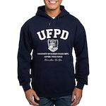 UF Police Dept Zombie Task Force Hoodie (dark)