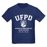 UF Police Dept Zombie Task Force Kids Dark T-Shirt