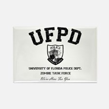 UF Police Dept Zombie Task Force Rectangle Magnet