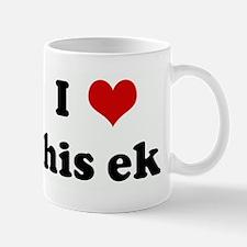 I Love his ek Mug