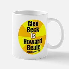 Glen beck IS Howard Beale Mug