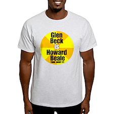 Glen beck IS Howard Beale T-Shirt