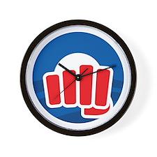Oh Fist Wall Clock