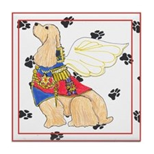 Gulliver's Angels Cocker Spaniel Tile Coaster