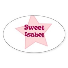 Sweet Isabel Oval Decal