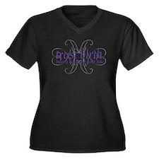 Trust Birth - Women's Plus Size V-Neck Dark T-Shir
