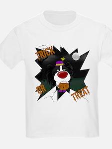 Papillon Clown Halloween T-Shirt