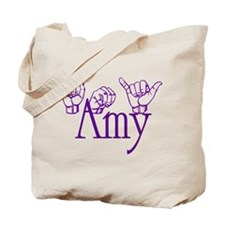 Amy -ppl Tote Bag