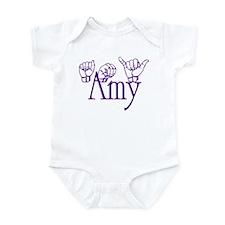 Amy -ppl Infant Bodysuit