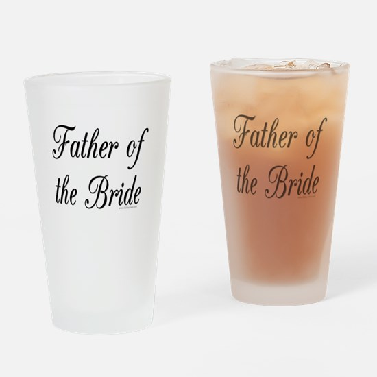 fatherOfTheBride copy.jpg Drinking Glass