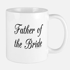 """Father of the Bride"" Large Mugs"