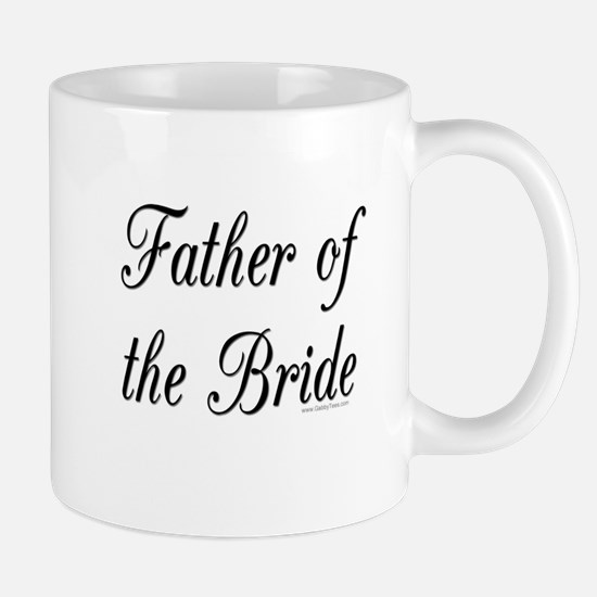 """""""Father of the Bride"""" Large Mugs"""