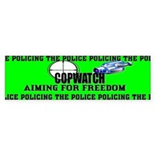 COP WATCH Bumper Bumper Sticker