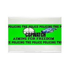COP WATCH Rectangle Magnet (10 pack)