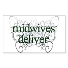 Midwives Deliver - Decal