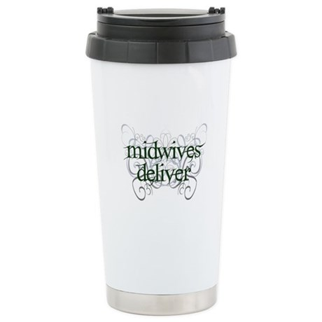 Midwives Deliver - Stainless Steel Travel Mug