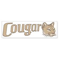 Sexy Cougar Bumper Bumper Sticker