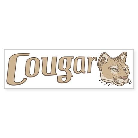 Sexy Cougar Bumper Sticker