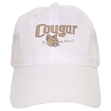 Cougar on the Prowl Baseball Cap