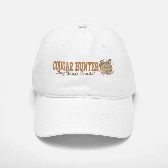 Cougar Hunter Baseball Baseball Cap
