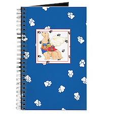 Gulliver's Angels Cocker Spaniel Blue Journal