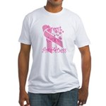 Breast Cancer Awareness Fitted T-Shirt