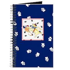 Gulliver's Angels Blue Sailor Lab Journal