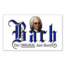 Bach - TOJB Rectangle Decal